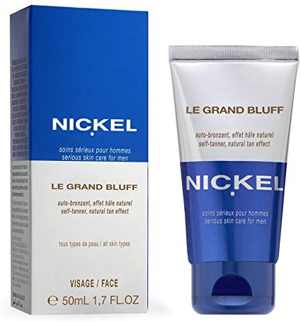 Nickel self tanning lotion